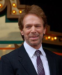 The 74-year old son of father (?) and mother(?), 171 cm tall Jerry Bruckheimer in 2018 photo