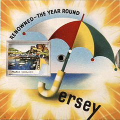 Jersey renowned the year round