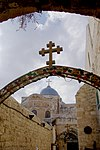 Jerusalem Via Dolorosa BW 12.JPG
