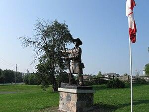 Jesse Lloyd - Statue in Lloydtown.