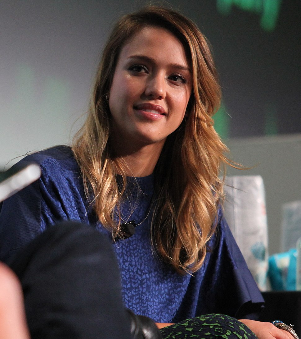 Jessica Alba at TechCrunch Disrupt San Francisco 2012 02 (cropped)