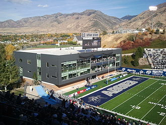 Maverik Stadium - Laub Athletics-Academics Complex