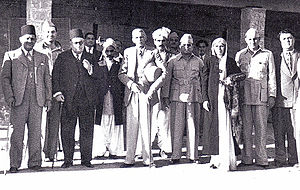 Jinnah and his fellow Muslim League Founders