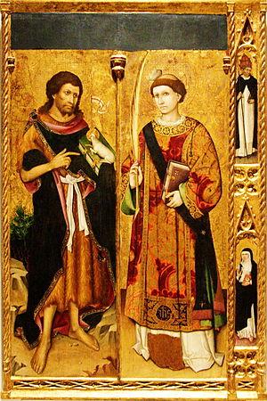 Saint John the Baptist and Saint Stephen