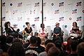 Jody Armour, Melina Abdullah, Lisa Hines, Jasmine Abdullah Richards & Melissa Harris-Perry (27700459240).jpg