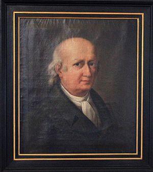 Johann Heinrich Wilhelm Tischbein - Selfportrait
