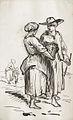 Johannot T. attr. - Ink & Pencil - Etude de personnages - 12.4x20cm.jpg