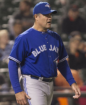 John Farrell (manager) - Farrell, during his Blue Jays tenure