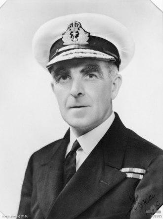 John Gregory Crace - Rear Admiral John Crace c.1940