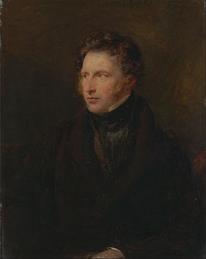 William Collins (painter) - Portrait of William Collins (1831)