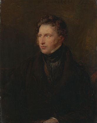 William Collins (painter) - Portrait of William Collins (1831) by John Linnell