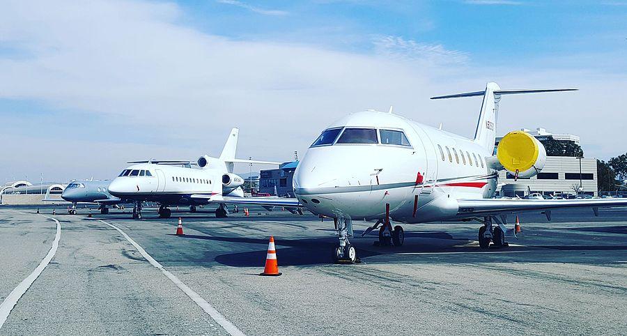 John Wayne Airport Jet Ramp