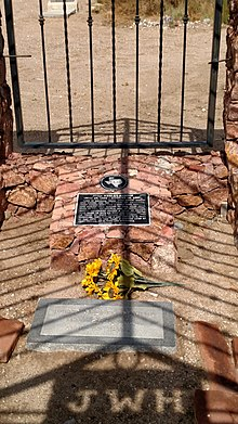 John Wesley Hardin Grave and Cage.jpg