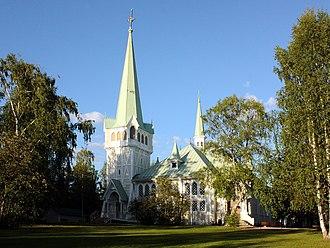Jokkmokk - Jokkmokk Church