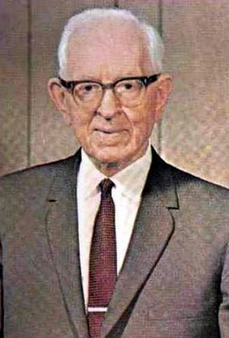 Acting President of the Quorum of the Twelve Apostles - Image: Joseph Fielding Smith