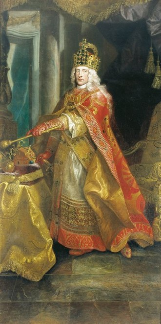 Joseph I, Holy Roman Emperor - Portrait attributed to Johann Rudolf Huber, 1702