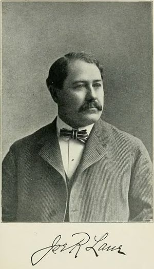 Joseph R. Lane - Image: Joseph R. Lane History of Iowa