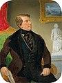 Joseph Weidner (att.) - Portrait of a Gentleman in a Bourgeois Setting.jpg