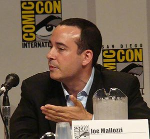 Joseph Mallozzi at Comic Con, 2007