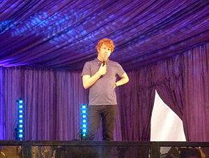 Josh Widdicombe - Widdicombe at the Latitude Festival in 2013.