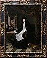 Juan bautista martinez del mazo, la regina mariana di spagna in abito a lutto, 1666.jpg