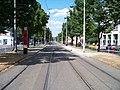 Jugoslávských partyzánů, tramvajové zastávky Vítězné náměstí.jpg