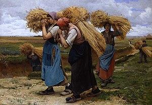 Julien Dupré - Glaneuses, 1880  Rehs Galleries, Inc., New York City