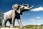 Life-sized Jumbo statue