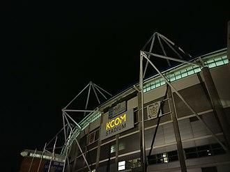 KCOM Stadium - Image: KCOM Stadium