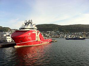 KL Saltfjord in Bergen harbour 01.jpg