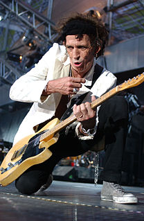 Keith Richards British songwriter, guitarist of The Rolling Stones