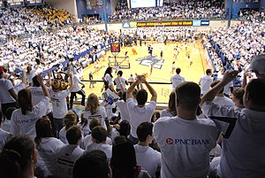 Kent State Golden Flashes men's basketball - Kent State vs. Akron at James A. Rhodes Arena in 2010