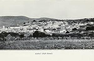 Kafr Kanna - Kfar Kanna, 1903