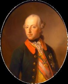 Porträt des Kaisers JosephII. (Quelle: Wikimedia)