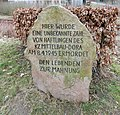 Kaiserteich Todesmarsch Gedenkstein (Osterode am Harz) 01.jpg