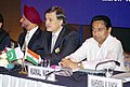 Kamal Nath and the Commerce Minister of Pakistan, Mr. Humayun Akhtar Khan at Business Interaction, jointly organised by the Ministry of Commerce & Industry, Associated Chamber of Commerce & Industry (ASSOCHAM).jpg