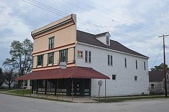 Kampsville, Illinois - The Kamp Store, a historic site in the village