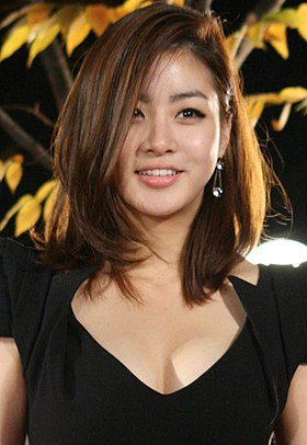 Kang So-ra during the 2011 Style Icon Awards 02.jpg
