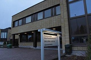 Kannus Town in Central Ostrobothnia, Finland