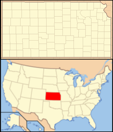 Benton is located in Kansas