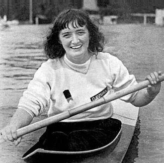 Karen Hoff - Karen Hoff at the 1948 Olympics