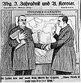 Karikatura Antona Korošca in češkega poslanca Zahradnika.jpg