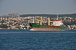 Karsoy cargo on the Bosphorus in Istanbul, Turkey 001.JPG