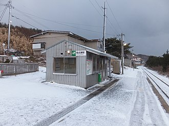 Kasose Station - Kasose Station in February 2018