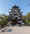 Keep, Hiroshima Castle, South view 20190417 1.jpg