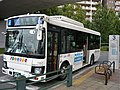 Keisei Town Bus T067 at Misato-chuo Station.jpg