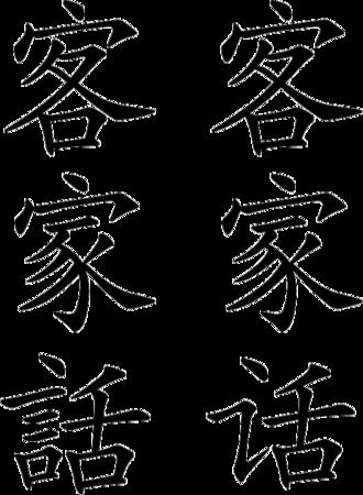 Hakka Chinese - Image: Kejiahua