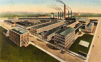Kelly Springfield Tire Company - Image: Kelly Springfield Tire Company, Akron, Ohio