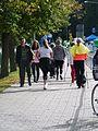 Kepikõndijad Vabaduse puiesteel Tartu linna tervisepäeval, 22. september 2012.jpg