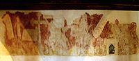 La fresque de la chapelle de Kermaria an Iskuit.